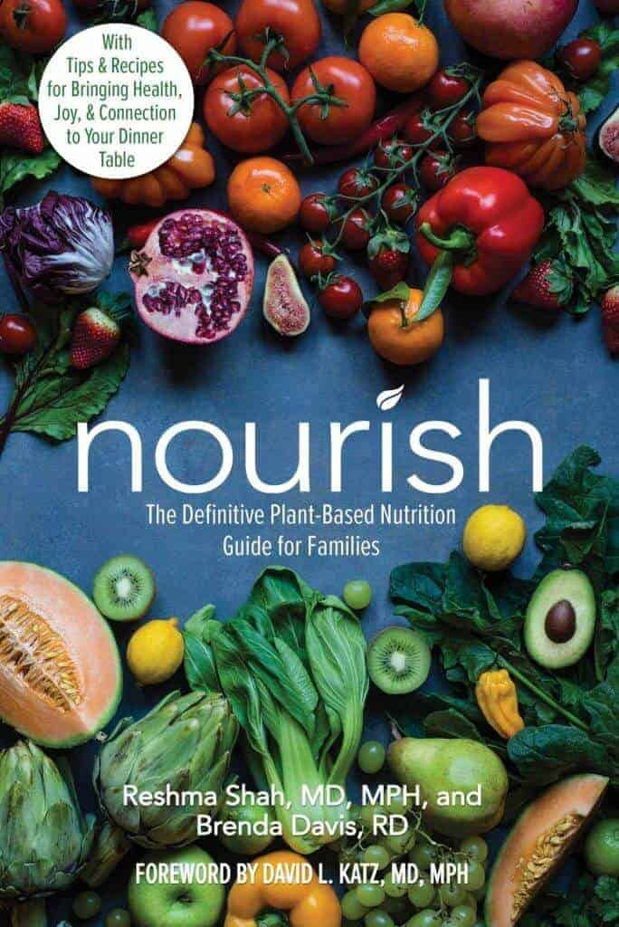 Cover image of the book Nourish.