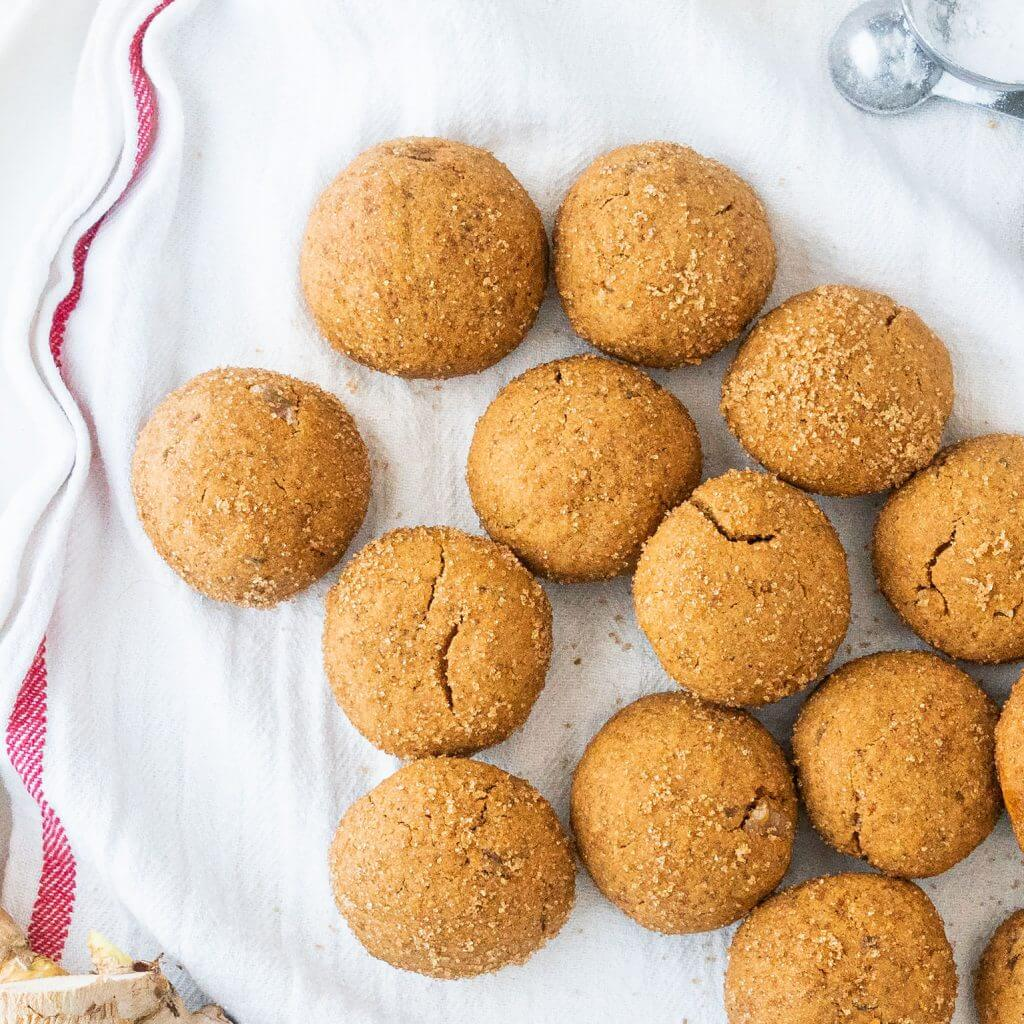 Triple Ginger Holiday Cookies