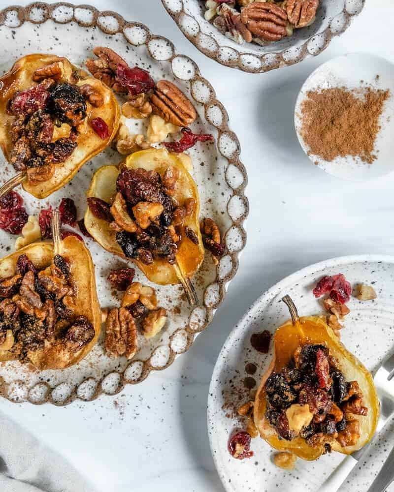 Vegan Baked Pears Plant Based on a Budget 13
