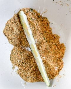 process for making baked zucchini fries