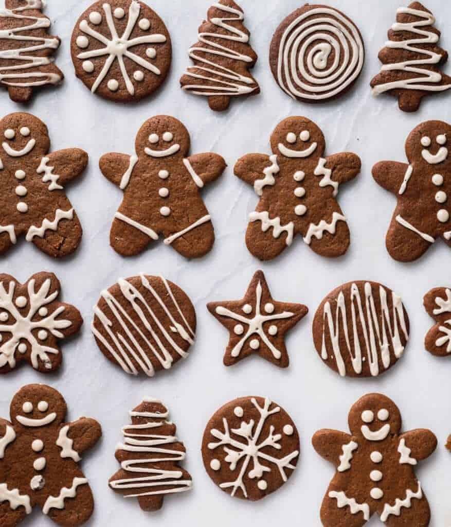 Sweet Simple Vegan Ginger Bread Cookies