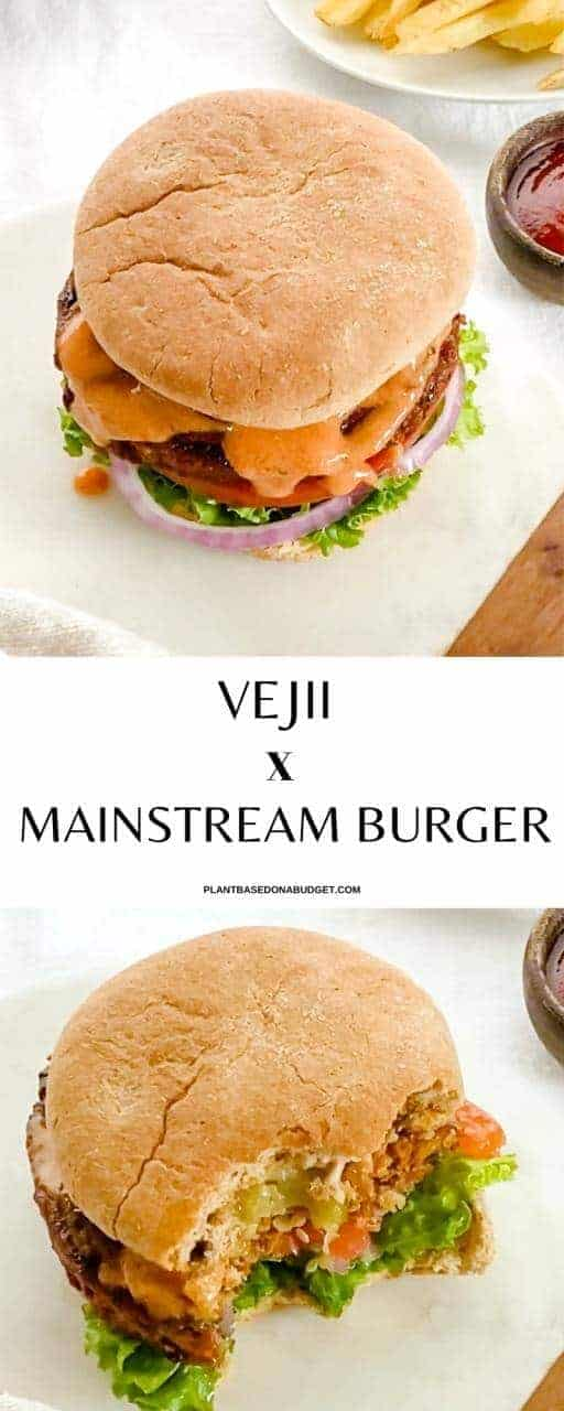 Head over to ShopVejii.com today to grab your Mainstream Burger and try this delicious recipe for the Vejii x Mainstream Burger!