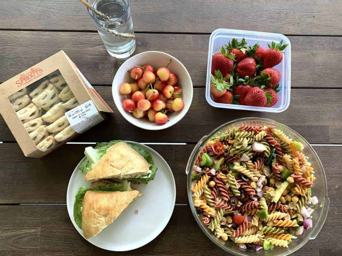 Easy at Plant-Based Picnic | Plant-Based on a Budget | #picnic #